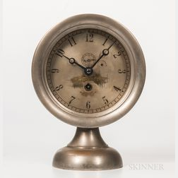 "Boston Clock Co. ""Crosby Steam Gauge"" Clock"