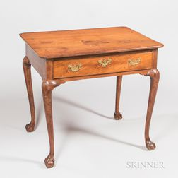 Chippendale Carved Walnut Table