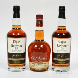Mixed Bourbon, 3 750ml bottles