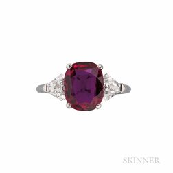 Van Cleef & Arpels Ruby and Diamond Ring