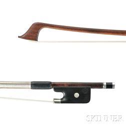 Silver-mounted Cello Bow