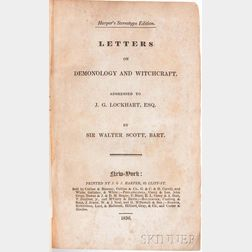 Scott, Sir Walter (1771-1832) Letters on Demonology and Witchcraft.