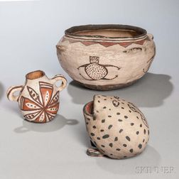 Three Southwestern Pottery Items