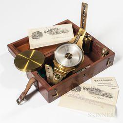 Small W. & L.E. Gurley Surveyor's Compass