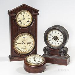 Three American Clocks