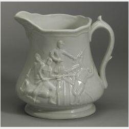 Union Porcelain Works White Glazed Tortoise Vase