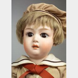 Heubach Bisque Head 8192 Character Boy Doll