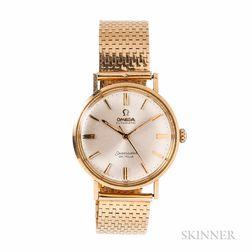 Omega Seamaster DeVille 14kt Gold Wristwatch