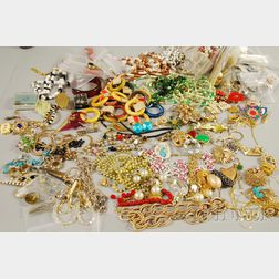 Two Bags of Costume Jewelry