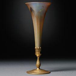 Tiffany Studios Trumpet Vase