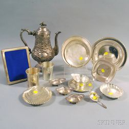 Assorted Group of Sterling Silver Tableware