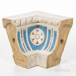 Rookwood Faience Crown Molding Corner Piece
