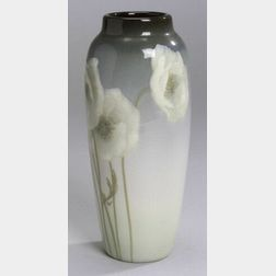 Rookwood Pottery White Poppies Vase
