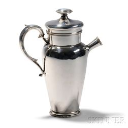 Chicago Silver Co. Sterling Cocktail Shaker