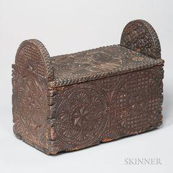 Friesian Carved Box