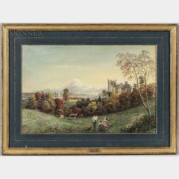 George Harvey (British/American, 1800-1878)      Atmospheric View