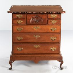 Cherry Chest of Drawers on Frame