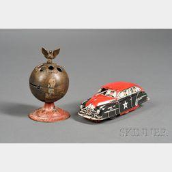 Two Metal Toys