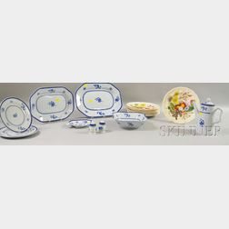 Eighteen Pieces of Spode Ceramic Tableware