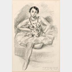 Henri Matisse (French, 1869-1954)      Danseuse assise en haut
