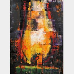 Aaron Fink (American, b. 1955)      Flame