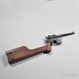 Mauser Model C-96 and Shoulder Stock/Holster