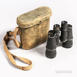 Imperial Japanese 7 x 50 mm Field Binoculars and Case