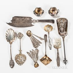 Twenty Pieces of American Silver Tableware