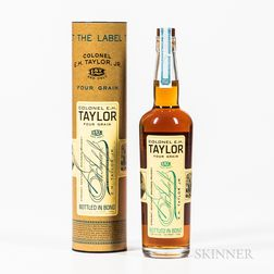 Colonel EH Taylor Four Grain, 1 750ml bottle Spirits cannot be shipped. Please see http://bit.ly/sk-spirits for more info.