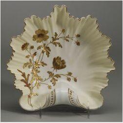 LotusWare Porcelain Shell Tray