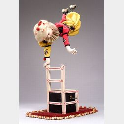 Roullet et Decamps Automaton of a Clown Equilibriste