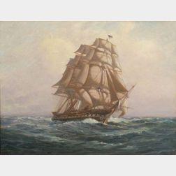 C. Myron Clark (American, 1858-1923)    On the Open Seas