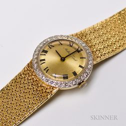 Mathey Tissot 14kt Gold and Diamond Lady's Wristwatch