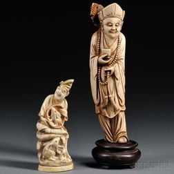 Two Ivory Figurines
