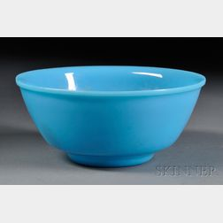 Blue Peking Glass Bowl