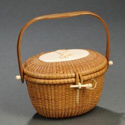 Nantucket Friendship Basket Purse