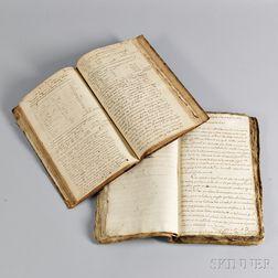 Spanish Language Manuscript Letter Book Regarding Shipping, 1797-1817.