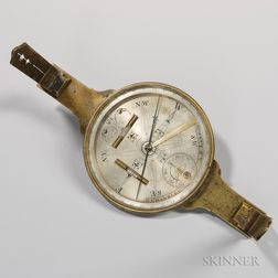 Goldsmith Chandlee Surveyor's Compass for A.B. Lane
