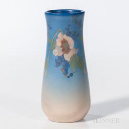 Rookwood Pottery Vellum Floral Vase