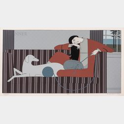 Will Barnet (American, 1911-2012)      Interlude