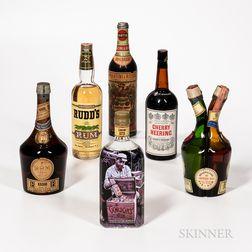 Mixed Spirits, 1 4/5 quart bottle 1 750ml bottle 1 30oz bottle 2 23 oz bottles 1 bottle Spirits cannot be shipped. Please see http:/...