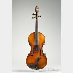 French Violin, probably Derazey Workshop, c. 1890