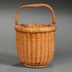 "Small ""One-Egg"" Nantucket Basket"