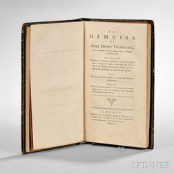 Timberlake, Lieutenant Henry (d. 1765) The Memoirs.