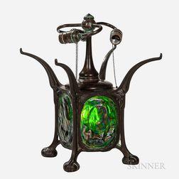 Tiffany-style Turtleback Lamp Base