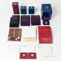 Group of Mint and Proof Sets and Commemorative Coins