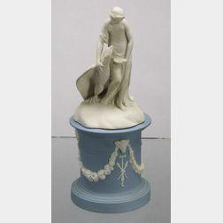 Wedgwood Solid White Jasper Figure of Hebe