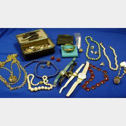 Bag of Miscellaneous Jewelry