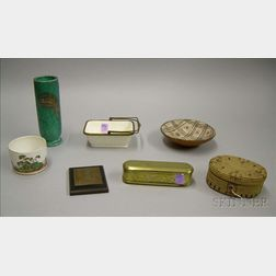 Seven Assorted Decorative Items