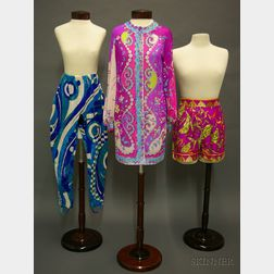 Three Pieces of Vintage Emilio Pucci Clothing